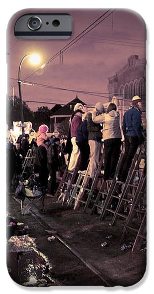 St Charles Night Parade iPhone Case by Ray Devlin