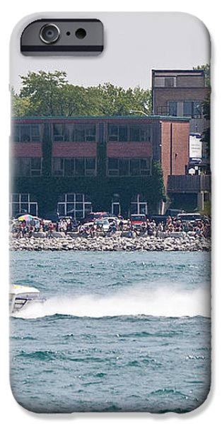 St. Clair Michigan USA Power Boat Races-4 iPhone Case by Paul Cannon