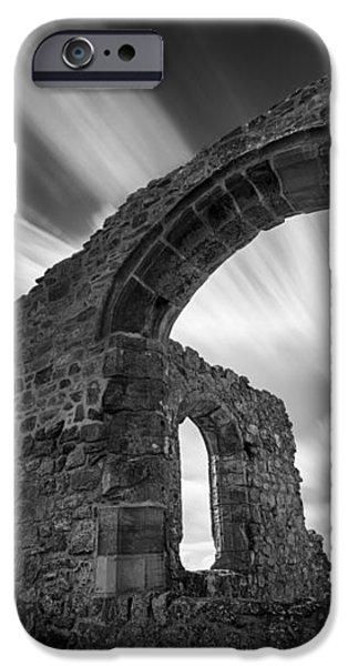 St Dwynwen's Church iPhone Case by Dave Bowman