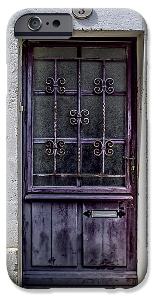 St Emilion Door iPhone Case by Nomad Art And  Design