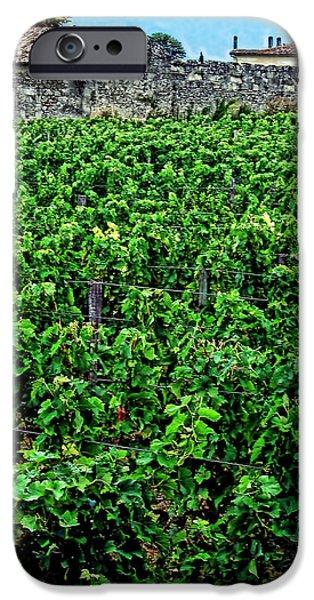 St. Emilion Winery iPhone Case by Joan  Minchak