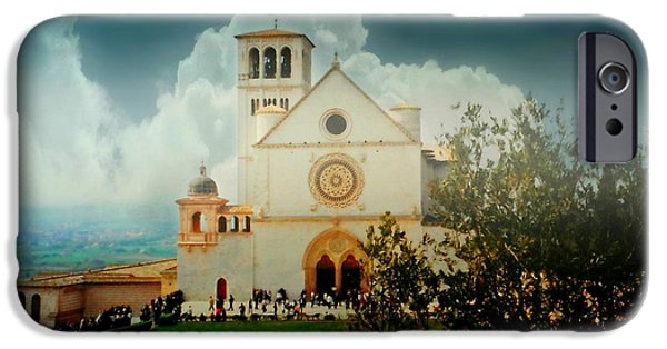 The Duomo iPhone Cases - St. Francis of Assisi iPhone Case by Diana Angstadt