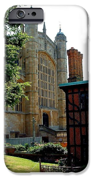 Prince Harry iPhone Cases - St. Georges Chapel iPhone Case by Matt Johnson