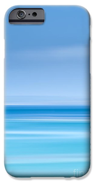 Deep Blue iPhone Cases - St Ives harbour iPhone Case by John Farnan
