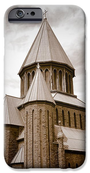 St John The Evangelist iPhone Cases - St John Evangelist - Schenectady iPhone Case by Ray Summers Photography