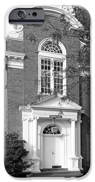 St. John's College Annapolis Randall Hall iPhone Case by University Icons