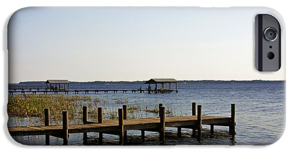 St. Johns River iPhone Cases - St Johns River Florida - Walk this way iPhone Case by Christine Till