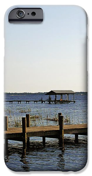 St Johns River Florida - Walk this way iPhone Case by Christine Till