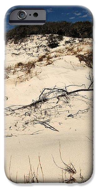 St. Joseph Sand Dunes iPhone Case by Adam Jewell