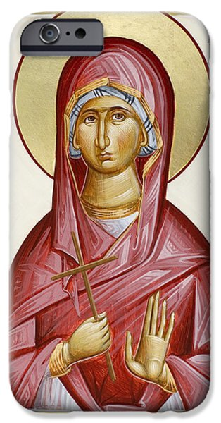 St Margarita iPhone Case by Julia Bridget Hayes