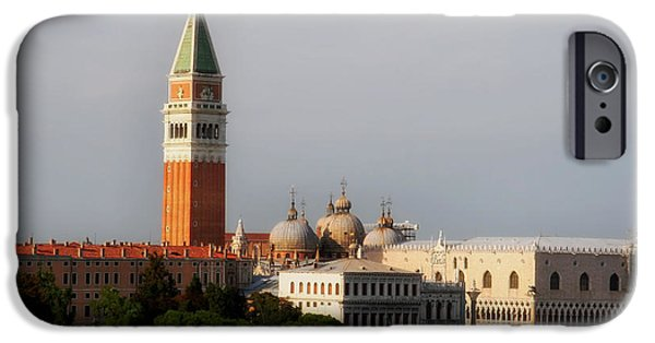 Beauty Mark Photographs iPhone Cases - St. Marks Square in Venice iPhone Case by Mountain Dreams