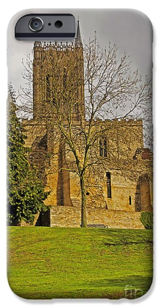 Lincoln iPhone Cases - St. Marys Cathedral iPhone Case by Elvis Vaughn