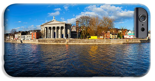 Marys iPhone Cases - St Marys Church At The Waterfront iPhone Case by Panoramic Images