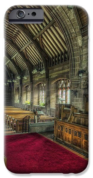 St Marys Church Organ iPhone Case by Ian Mitchell
