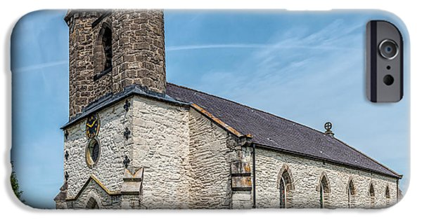 Cemetary iPhone Cases - St Michael Church iPhone Case by Adrian Evans