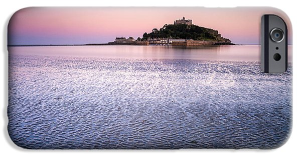 Michael Photographs iPhone Cases - St Michaels Mount Cornwall iPhone Case by John Farnan