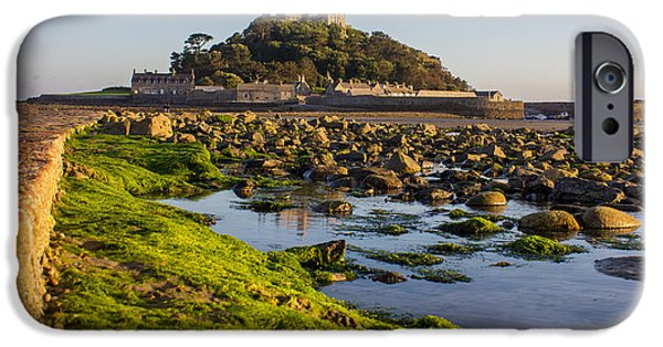 Cathedral Rock iPhone Cases - St Michaels Mount iPhone Case by Martin Newman