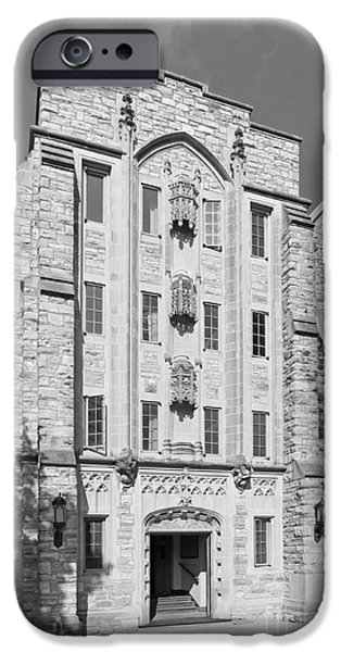 St. Olaf College Mellby Hall iPhone Case by University Icons