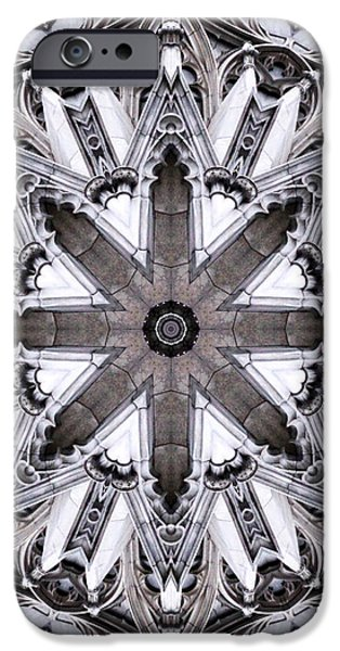 St. Patrick's Cathedral iPhone Case by Dawn LaGrave