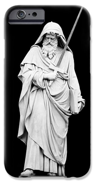 Paolo iPhone Cases - St. Paul iPhone Case by Fabrizio Troiani