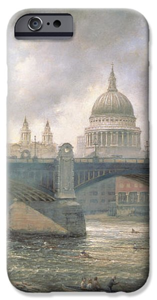 St. Paul's Cathedral from the Southwark Bank iPhone Case by Richard Willis