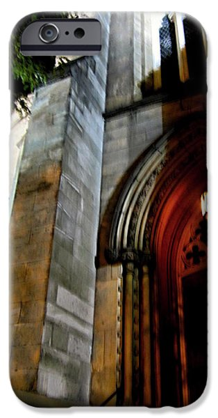 Town iPhone Cases - St. Pauls Presbyterian Church Hamilton Ontario  Canada Front View iPhone Case by Danielle  Parent