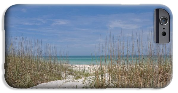 St. Petersburg iPhone Cases - St. Pete Beach iPhone Case by Bill Cannon