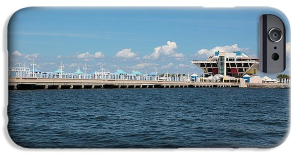 St. Petersburg iPhone Cases - St Pete Pier iPhone Case by Carol Groenen