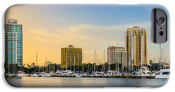 St. Petersburg iPhone Cases - St Pete Sun iPhone Case by Clay Townsend