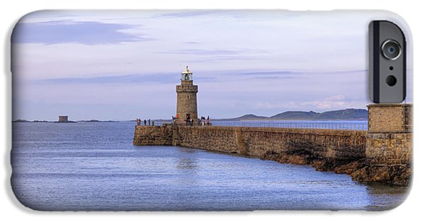 Lighthouse iPhone Cases - St Peter Port - Guernsey iPhone Case by Joana Kruse