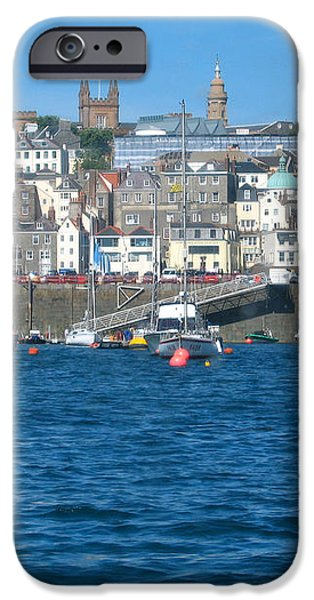 St Peters Port Guernsey  iPhone Case by Phyllis Kaltenbach