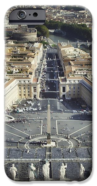 St Peter's Square iPhone Case by Joan Carroll
