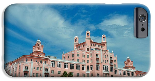 St. Petersburg iPhone Cases - St Petersburg - Don Ceasar Hotel iPhone Case by Bill Cannon