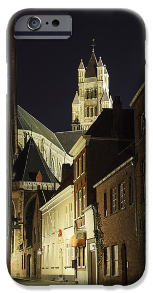 Belgium iPhone Cases - St Saviour Cathedral  iPhone Case by Adam Romanowicz
