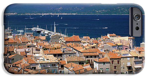 St.tropez iPhone Cases - St Tropez, France iPhone Case by Panoramic Images