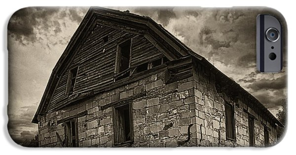 Grist Mill iPhone Cases - St. Vrain Mill iPhone Case by Priscilla Burgers