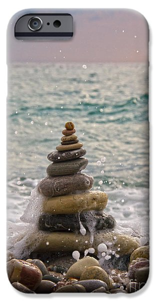 Impacting iPhone Cases - Stacking Stones iPhone Case by Stylianos Kleanthous