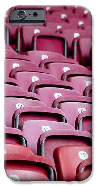 Stadium Seats iPhone Case by Frank Gaertner