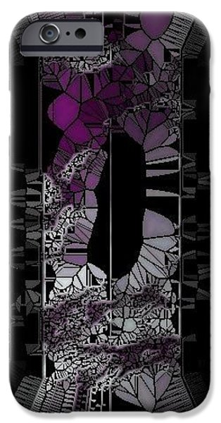 stain glass iPhone Case by HollyWood Creation By linda zanini