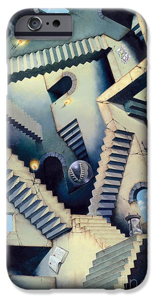 Indoor iPhone Cases - Staircase iPhone Case by Irvine Peacock