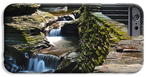 Miracle iPhone Cases - Stairs and more Stairs iPhone Case by Frozen in Time Fine Art Photography