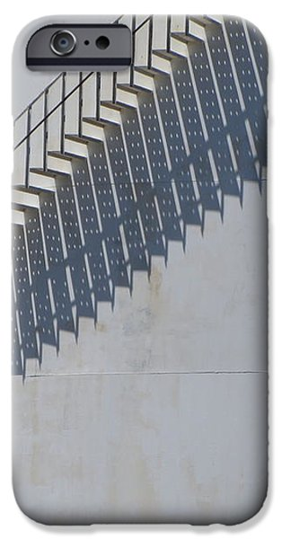 Stairs and Shadows 3 iPhone Case by Anita Burgermeister