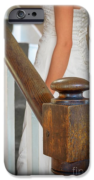 Bride iPhone Cases - Stairway iPhone Case by Amanda And Christopher Elwell