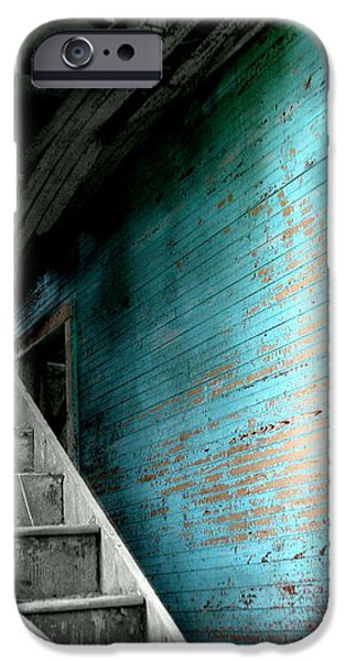 Stairway to Abandoned iPhone Case by Amy Sorrell