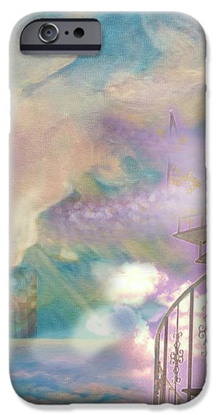 Stairway to Heaven iPhone Case by Anne Cameron Cutri