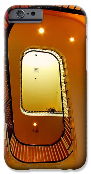 Colors Of Autumn iPhone Cases - Stairway to Heaven iPhone Case by Karen Wiles