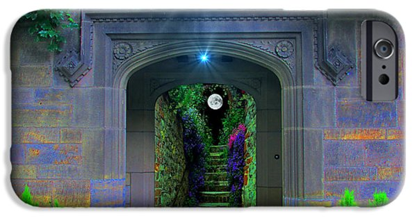 Rucker iPhone Cases - Stairway to Paradise  iPhone Case by Michael Rucker