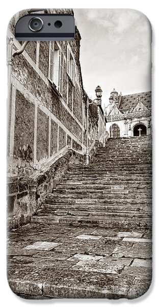 Stairway to Salvation  iPhone Case by Olivier Le Queinec