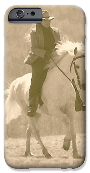 Paso Fino Stallion iPhone Cases - Stallion Strides iPhone Case by Patricia Keller
