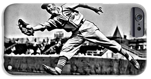 Baseball iPhone Cases - Stan Musial iPhone Case by Florian Rodarte